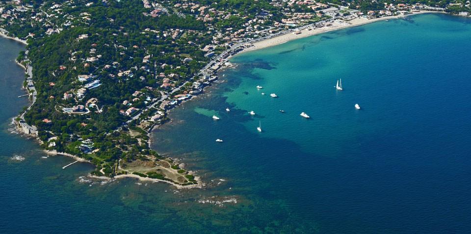 La Pointe des Sardinaux à Sainte Maxime