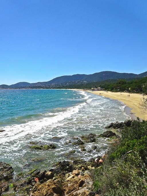 Longue plage de Pampelonne