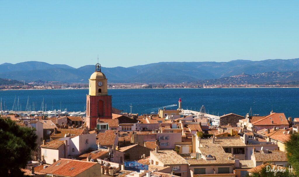 Saint Tropez et son clocher