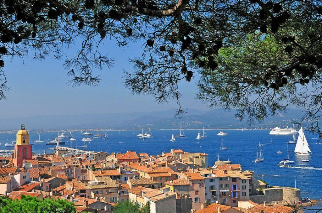 Le village de Saint Tropez