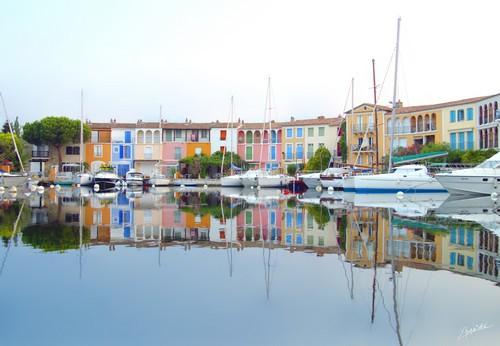 La cité lacustre de Port Grimaud