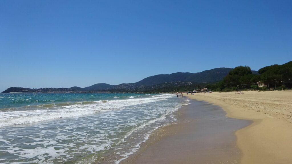 Plage du Golfe de St Tropez