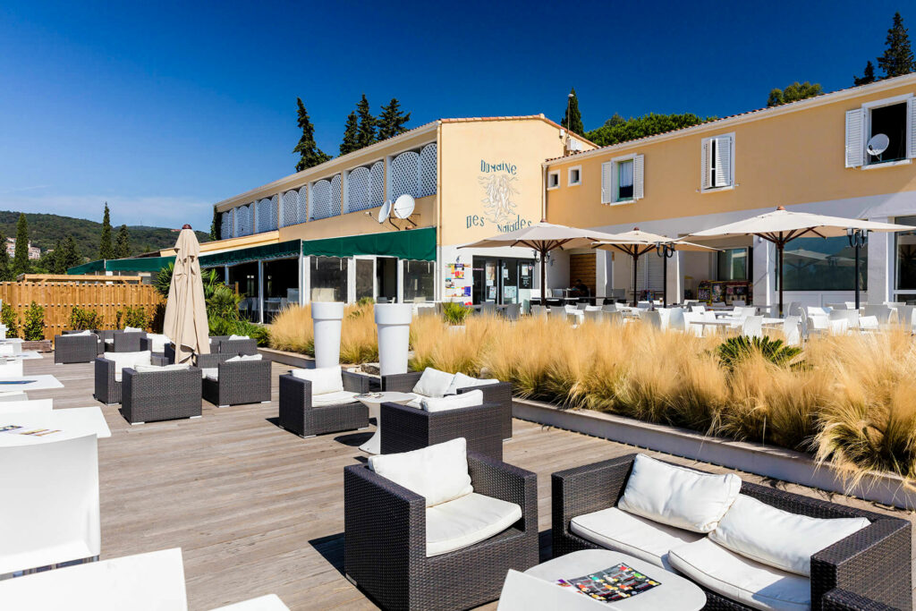 Le restaurant-bar des Naïades