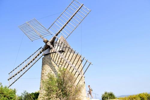 Le Moulin Saint Roch de Grimaud