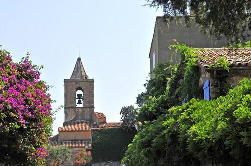 Le clocher de Grimaud