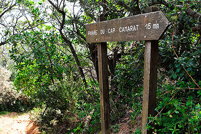 En direction du Cap Camarat